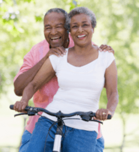 Couple-on-Bike-Weight-Loss-Tips