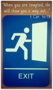 Temptation Exit's Door
