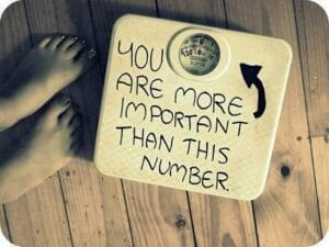 Image result for weighing one's self
