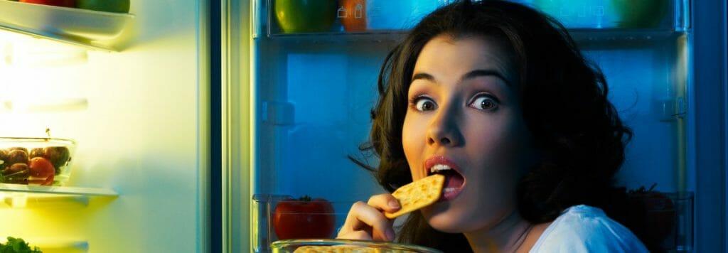 my overcoming night eating struggle